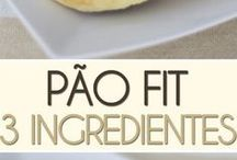 Pão Fit - 3 Ingredientes