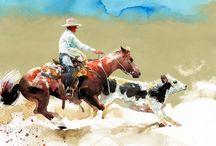 Watercolor / animals