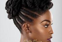 Natural Hair Styles   Black Brides