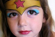 maquillage wonder woman