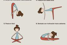 yoga,ejercicios, educación física...