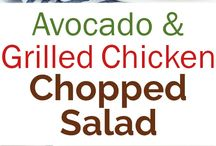 Advocate Grilled chicken salad