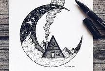 Tegning/maleri inspirasjon