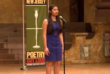 NJ POL 2015 / Poetry Out Loud is a free national program sponsored by the National Endowment for the Arts and the Poetry Foundation.  Poetry Out Loud encourages the nation's youth to learn about great property through memorization and performance.  This exciting program is now in its tenth year in New Jersey.