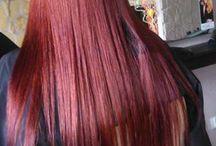 Koloryzacja / Farbowanie włosów, balejaże - salon Sabina Jędrzejko - Free Style Kęty