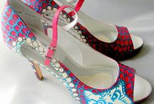 Wedding / Wedding Shoes and Unique shoes Hand painted accessories Find at http://www.norakaren.com or request a custom pair at norakaren2002@yahoo.com / by Norakaren