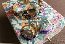 Cloisonné jewellery