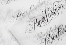 Calligraphy & lettering / by Patricia Turpin