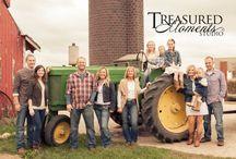 Farm family photography