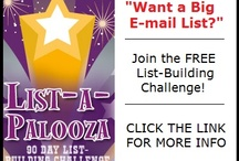 Free 90 Day List Building Challenge / My friend PJ Van Hulle is hosting a really cool free online event called List-a-Palooza that I highly recommend checking out. It's a List-Building Challenge for growing your e-mail list.  If you're curious, click here for more info: https://realprosperity.infusionsoft.com/go/listapalooza/shagibbs