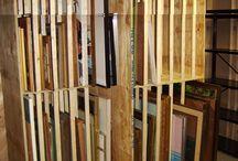 Schuur / Te bouwen schuur voor opslag, expositie en productie.