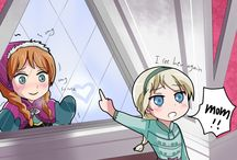 Elsanna as kids / by Mariana Marins