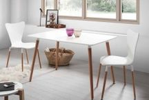 MESAS COMEDOR SALON / Ideas para decorar los comedores y salones con originales mesas para comedores y salones