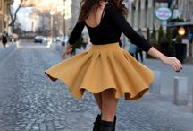 Mustard Yellow Fashion
