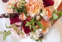 Burgundy/Peach Weddings / www.lushfloraldesgnpdx.com Serving Portland, Oregon and Vancouver, Washington. Wedding and Event floral design. Wedding bouquets, centerpieces, ceremony floral, Cake floral, Boutonnieres', Altar floral, corsages, aisle petals. Contact us at www.lushfloraldesignpdx.com