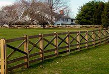 Wood Estate & Paddock Fence