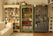 bookcases / by Emily Gideon