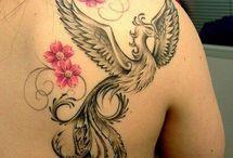 Tatuaże z feniksem