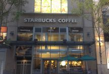 Starbucks Storefronts / There are pretty Starbucks storefronts everywhere!
