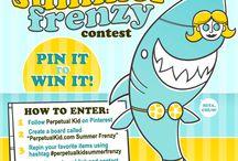 PerpetualKid.com Summer Frenzy / by Perpetual Kid