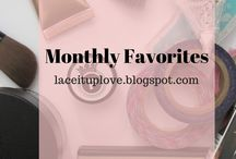 Monthly Favorites of 2017 / Monthly favorites of 2017 includes beauty products, music, bands, writing, apps, gaming & more.