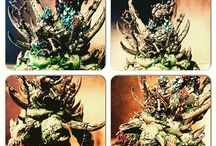 Glottkin / #warhammer #fantasy #glottkin #chaos #eot #endoftimes #painting #gamesworkshop #gw #citadel #nurgle