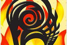 Quadrinhos em Azulejos - Zodíaco. / Quadrinhos confeccionados em Azulejo no tamanho 15x15 cm.Tem um ganchinho no verso para fixar na parede. Inspirados nos signos do Zodíaco. Para entrar em contato conosco, acesse: www.babadocerto.com.br