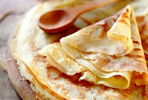 Crepes and tacos& eggs