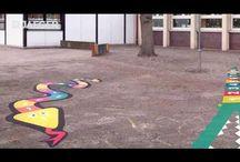 Markierungsfarben / Straßen markieren, Parkplätze markieren. Markierungsfarbe für jede Anforderung.