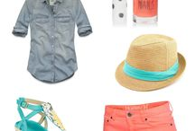 Vacation outfits / by Sarah Morrow