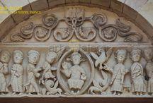 Tímpanos / Colección de tímpanos de estilo románico y gótico