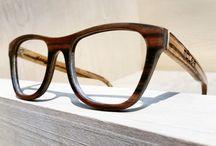 Móler combinada / Moler glasses combinated with at least 2 different woods.   Gafas combinadas con al menos 2 maderas diferentes.