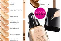 AVON Foundation, Powders, Concealers