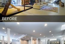 Renovations before & after