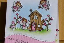 lawn fawn fairy