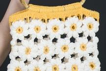 bolsos y monederos / de crochet