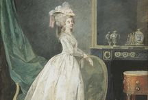 painted furniture 18th century in Paintings