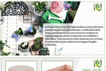 Jardín Clásico - Romántico / Ideas clásicas y románticas para crear el jardín perfecto.