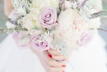 Wedding bouquet vintage/colours