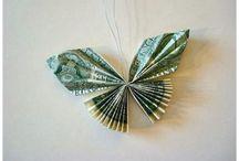 Geld Schmetterlinge  u.ä.