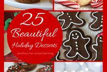 Christmas:  ricette dolci e salate