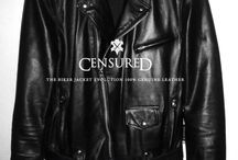 ✖️ CENSURED ✖️ / Leather Jackets & Accessoroes for Him & Her ✖️