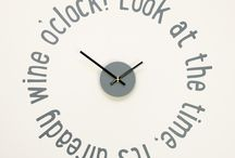 'Time for...' Clock Wall Stickers series / Fantastic Kitchen Clocks. A funky series of 55cm clock wall stickers with quartz silent sweep mechanisms. All available in 30 matt colours.