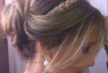 Beleza make up penteados