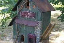 Bird hotels