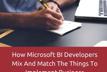 Microsoft BI / Information about MS-BI development and sharing the latest technology information about Microsoft Business Intelligence.