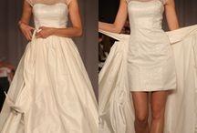 Detachable dresses