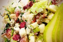 Scrumptious Salads & Awesome Appies! / Salads as a side or as a meal, appetizers and snacks, easy to do but impressive all the same