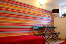 Pokój Kolorowy / Pokój noclegowy
