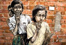 obras de arte de rua / by Damiria Machado